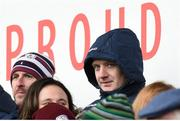 18 February 2018; Joe Canning of Galway watches his team-mates in action against Offaly during the Allianz Hurling League Division 1B Round 3 match between Galway and Offaly at Pearse Stadium in Galway. Photo by Matt Browne/Sportsfile