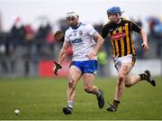 18 February 2018; Shane Fives of Waterford in action against John Donnelly of Kilkenny during the Allianz Hurling League Division 1A Round 3 match between Waterford and Kilkenny at Walsh Park in Waterford. Photo by Stephen McCarthy/Sportsfile