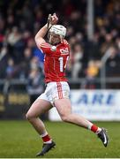 18 February 2018; Patrick Horgan of Cork during the Allianz Hurling League Division 1A Round 3 match between Clare and Cork at Cusack Park in Ennis, Clare. Photo by Seb Daly/Sportsfile