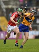 18 February 2018; Robbie O'Flynn of Cork in action against Jack Browne of Clare during the Allianz Hurling League Division 1A Round 3 match between Clare and Cork at Cusack Park in Ennis, Clare. Photo by Seb Daly/Sportsfile