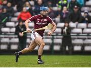 18 February 2018; Johnny Coen of Galway during the Allianz Hurling League Division 1B Round 3 match between Galway and Offaly at Pearse Stadium in Galway. Photo by Matt Browne/Sportsfile