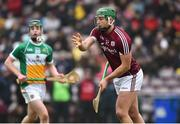 18 February 2018; Niall de Burca of Galway during the Allianz Hurling League Division 1B Round 3 match between Galway and Offaly at Pearse Stadium in Galway. Photo by Matt Browne/Sportsfile