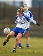 18 February 2018; Ciara McAnespie of Monaghan during the Lidl Ladies Football National League Division 1 Round 3 refixture match between Monaghan and Kerry at IT Blanchardstown in Blanchardstown, Dublin. Photo by Piaras Ó Mídheach/Sportsfile