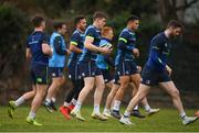 19 February 2018; Garry Ringrose, centre, during a Leinster Rugby training session at Leinster Rugby Headquarters in UCD, Dublin. Photo by Stephen McCarthy/Sportsfile