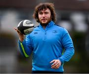 19 February 2018; Adam Coyle during a Leinster Rugby training session at Leinster Rugby Headquarters in UCD, Dublin. Photo by Stephen McCarthy/Sportsfile