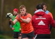 19 February 2018; Gavin Coombes during Munster Rugby squad training at the University of Limerick in Limerick. Photo by Diarmuid Greene/Sportsfile
