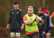 19 February 2018; Jeremy Loughman during Munster Rugby squad training at the University of Limerick in Limerick. Photo by Diarmuid Greene/Sportsfile