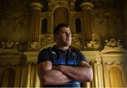 20 February 2018; CJ Stander poses for a portrait following an Ireland press conference at Carton House in Maynooth, Co Kildare. Photo by David Fitzgerald/Sportsfile