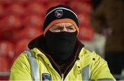 17 February 2018; An Armagh steward during the Bank of Ireland Dr. McKenna Cup Final match between Tyrone and Donegal at the Athletic Grounds in Armagh. Photo by Oliver McVeigh/Sportsfile