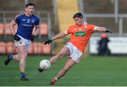 11 February 2018; Ryan McShane of Armagh during the Allianz Football League Division 3 Round 3 match between Armagh and Longford at the Athletic Grounds in Armagh. Photo by Oliver McVeigh/Sportsfile