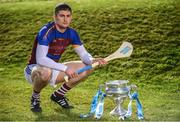 21 February 2018; Electric Ireland Fitzgibbon Cup finalist, Conor Cleary of University of Limerick, pictured, will take on Paudie Foley of Dublin City University on Saturday, 24th February in Mallow.  The unique quality of the Electric Ireland Higher Education Championships will see players putting their intercounty and club rivalries aside to strive to achieve Electric Ireland Fitzgibbon Cup glory. Electric Ireland has been shining a light on these First Class Rivals as proud sponsor of the college level competitions for the next four years. GAA National Games Development Centre, National Sports Campus, in Abbotstown, Dublin. Photo by Sam Barnes/Sportsfile
