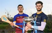 21 February 2018; Electric Ireland Fitzgibbon Cup finalist, Paudie Foley of Dublin City University, right, will take on Conor Cleary of University of Limerick, on Saturday, 24th February in Mallow. The unique quality of the Electric Ireland Higher Education Championships will see players putting their intercounty and club rivalries aside to strive to achieve Electric Ireland Fitzgibbon Cup glory. Electric Ireland has been shining a light on these First Class Rivals as proud sponsor of the college level competitions for the next four years. GAA National Games Development Centre, National Sports Campus, in Abbotstown, Dublin. Photo by Sam Barnes/Sportsfile