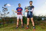 21 February 2018; Electric Ireland Fitzgibbon Cup finalists, Conor Cleary of University of Limerick, left, will take on Paudie Foley of Dublin City University on Saturday, 24th February in Mallow. The unique quality of the Electric Ireland Higher Education Championships will see players putting their intercounty and club rivalries aside to strive to achieve Electric Ireland Fitzgibbon Cup glory. Electric Ireland has been shining a light on these First Class Rivals as proud sponsor of the college level competitions for the next four years. GAA National Games Development Centre, National Sports Campus, in Abbotstown, Dublin. Photo by Sam Barnes/Sportsfile