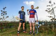 21 February 2018; Electric Ireland Fitzgibbon Cup finalists, Conor Cleary of University of Limerick, right, will take on Paudie Foley of Dublin City University on Saturday, 24th February in Mallow. The unique quality of the Electric Ireland Higher Education Championships will see players putting their intercounty and club rivalries aside to strive to achieve Electric Ireland Fitzgibbon Cup glory. Electric Ireland has been shining a light on these First Class Rivals as proud sponsor of the college level competitions for the next four years. GAA National Games Development Centre, National Sports Campus, in Abbotstown, Dublin. Photo by Sam Barnes/Sportsfile