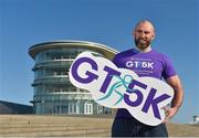 23 February 2018; Connacht Rugby captain John Muldoon pictured in attendance at the Grant Thornton Corporate 5K Team Challenge 2018 Series Launch at Ballybrit Racecourse, in Galway.  Photo by Seb Daly/Sportsfile