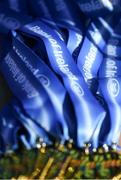 21 February 2018; A detailed view of the winners medals following the Bank of Ireland FAI Schools Senior Girls National Cup Final match between Moville Community College, Donegal, and Presentation Secondary School Thurles, Tipperary, at Home Farm FC in Whitehall, Dublin. Photo by Stephen McCarthy/Sportsfile