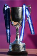 21 February 2018; The cup on display prior to the Bank of Ireland FAI Schools Senior Girls National Cup Final match between Moville Community College, Donegal, and Presentation Secondary School Thurles, Tipperary, at Home Farm FC in Whitehall, Dublin. Photo by Stephen McCarthy/Sportsfile