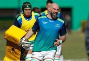 24 February 2018; John Muldoon of Connacht warms up prior to the Guinness Pro14 Round 16 match between Benetton and Connacht at Stadio Monigo in Treviso, Italy. Photo by Roberto Bregani/Sportsfile