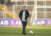 24 February 2018; Luke Connolly of Nemo Rangers walks the pitch ahead of the AIB GAA Football All-Ireland Senior Club Championship Semi-Final match between Nemo Rangers and Slaughtneil at O'Moore Park in Portlaoise, Co Laois. Photo by Eóin Noonan/Sportsfile