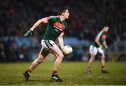 24 February 2018; Lee Keegan of Mayo during the Allianz Football League Division 1 Round 4 match between Mayo and Dublin at Elverys MacHale Park in Castlebar, Co Mayo. Photo by Stephen McCarthy/Sportsfile