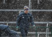 11 February 2018; Diarmuid Murtagh of Roscommon during the warm-up ahead of the Allianz Football League Division 2 Round 3 match between Roscommon and Down at Dr. Hyde Park in Roscommon. Photo by Daire Brennan/Sportsfile