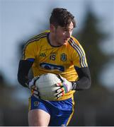 11 February 2018; Cian McKeon of Roscommon during the Allianz Football League Division 2 Round 3 match between Roscommon and Down at Dr. Hyde Park in Roscommon. Photo by Daire Brennan/Sportsfile