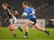 24 February 2018; Aoife Kane of Dublin during the Lidl Ladies Football National League Division 1 Round 4 match between Mayo and Dublin at Elverys MacHale Park in Castlebar, Co Mayo. Photo by Stephen McCarthy/Sportsfile