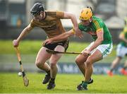 25 February 2018; Bryan Murphy of Kerry in action against James Kelly of Meath during the Allianz Hurling League Division 2A Round 4 match between Kerry and Meath at Austin Stack Park in Kerry. Photo by Diarmuid Greene/Sportsfile
