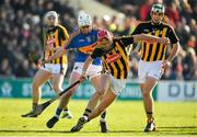 25 February 2018; Cillian Buckley of Kilkenny in action against Ger Browne of Tipperary during the Allianz Hurling League Division 1A Round 4 match between Kilkenny and Tipperary at Nowlan Park in Kilkenny. Photo by Brendan Moran/Sportsfile