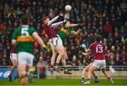 25 February 2018; Peter Cooke of Galway in action against Jack Barry of Kerry during the Allianz Football League Division 1 Round 4 match between Kerry and Galway at Austin Stack Park in Kerry. Photo by Diarmuid Greene/Sportsfile