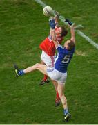 25 February 2018; Cian Dorgan of Cork in action against Martin Reilly of Cavan during the Allianz Football League Division 2 Round 4 match between Cork and Cavan at Páirc Uí Chaoimh in Cork. Photo by Eóin Noonan/Sportsfile