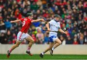 25 February 2018; Mikey Kearney of Waterford in action against Mark Coleman of Cork during the Allianz Hurling League Division 1A Round 4 match between Cork and Waterford at Páirc Uí Chaoimh in Cork. Photo by Eóin Noonan/Sportsfile