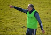 25 February 2018; Offaly manager Stephen Wallace during the Allianz Football League Division 3 Round 4 match between Offaly and Armagh at Bord Na Móna O'Connor Park in Offaly. Photo by Sam Barnes/Sportsfile