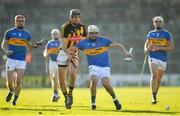 25 February 2018; Patrick Maher of Tipperary and Conor O'Shea of Kilkenny compete for possession during the Allianz Hurling League Division 1A Round 4 match between Kilkenny and Tipperary at Nowlan Park in Kilkenny. Photo by Brendan Moran/Sportsfile