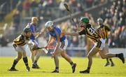 25 February 2018; Sean O'Brien of Tipperary in action against Walter Walsh, left, and Alan Murphy of Kilkenny during the Allianz Hurling League Division 1A Round 4 match between Kilkenny and Tipperary at Nowlan Park in Kilkenny. Photo by Brendan Moran/Sportsfile