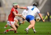 25 February 2018; Shane Kingston of Cork in action against Noel Connors of Waterford during the Allianz Hurling League Division 1A Round 4 match between Cork and Waterford at Páirc Uí Chaoimh in Cork. Photo by Eóin Noonan/Sportsfile