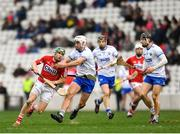 25 February 2018; Alan Cadogan of Cork in action against Shane Fives of Waterford during the Allianz Hurling League Division 1A Round 4 match between Cork and Waterford at Páirc Uí Chaoimh in Cork. Photo by Eóin Noonan/Sportsfile