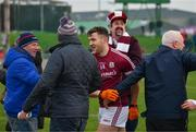 25 February 2018; Damien Comer of Galway is congratulated by supporters after the Allianz Football League Division 1 Round 4 match between Kerry and Galway at Austin Stack Park in Kerry. Photo by Diarmuid Greene/Sportsfile