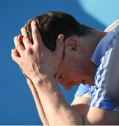 25 February 2018; A dejected Liam Rushe of Dublin near the end of the Allianz Hurling League Division 1B Round 4 match between Dublin and Galway at Parnell Park in Dublin. Photo by Daire Brennan/Sportsfile