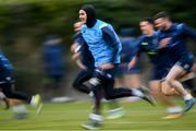26 February 2018; James Lowe during Leinster Rugby squad training at UCD in Dublin. Photo by Ramsey Cardy/Sportsfile