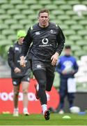 27 February 2018; Chris Farrell during an Ireland rugby open training session at the Aviva Stadium in Dublin. Photo by Ramsey Cardy/Sportsfile
