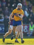 25 February 2018; Conor Cleary of Clare in action during the Allianz Hurling League Division 1A Round 4 match between Wexford and Clare at Innovate Wexford Park in Wexford. Photo by Matt Browne/Sportsfile