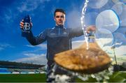 7 March 2018; Ballygowan and Energise Sport today announced the renewal of their partnership with Dublin GAA as the official hydration partners. Dublin hurler Danny Sutcliffe at the announcement in Parnell Park, Dublin. Photo by Stephen McCarthy/Sportsfile