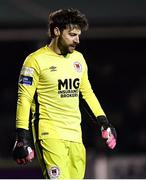 23 February 2018; Barry Murphy of St Patrick's Athletic  during the SSE Airtricity League Premier Division match between Bray Wanderers and St Patrick's Athletic at the Carlisle Grounds in Wicklow. Photo by Harry Murphy/Sportsfile
