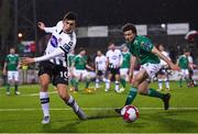 9 March 2018; Jamie McGrath of Dundalk and Barry McNamee of Cork City during the SSE Airtricity League Premier Division match between Dundalk and Cork City at Oriel Park in Dundalk, Louth. Photo by Stephen McCarthy/Sportsfile