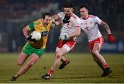 10 March 2018; Michael Murphy of Donegal in action against Pádraig Hampsey of Tyrone during the Allianz Football League Division 1 Round 5 match between Tyrone and Donegal at Healy Park in Omagh, Co Tyrone. Photo by Oliver McVeigh/Sportsfile