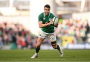 10 March 2018; Conor Murray of Ireland during the NatWest Six Nations Rugby Championship match between Ireland and Scotland at the Aviva Stadium in Dublin. Photo by Stephen McCarthy/Sportsfile