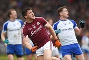 11 March 2018; Damien Comer of Galway looks on after scoring his side's third point during the Allianz Football League Division 1 Round 5 match between Galway and Monaghan at Pearse Stadium in Galway. Photo by Diarmuid Greene/Sportsfile