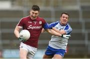 11 March 2018; Johnny Heaney of Galway in action against Ryan Wylie of Monaghan during the Allianz Football League Division 1 Round 5 match between Galway and Monaghan at Pearse Stadium in Galway. Photo by Diarmuid Greene/Sportsfile