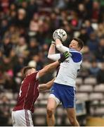 11 March 2018; Conor McManus of Galway in action against Eoghan Kerin of Monaghan during the Allianz Football League Division 1 Round 5 match between Galway and Monaghan at Pearse Stadium in Galway. Photo by Diarmuid Greene/Sportsfile